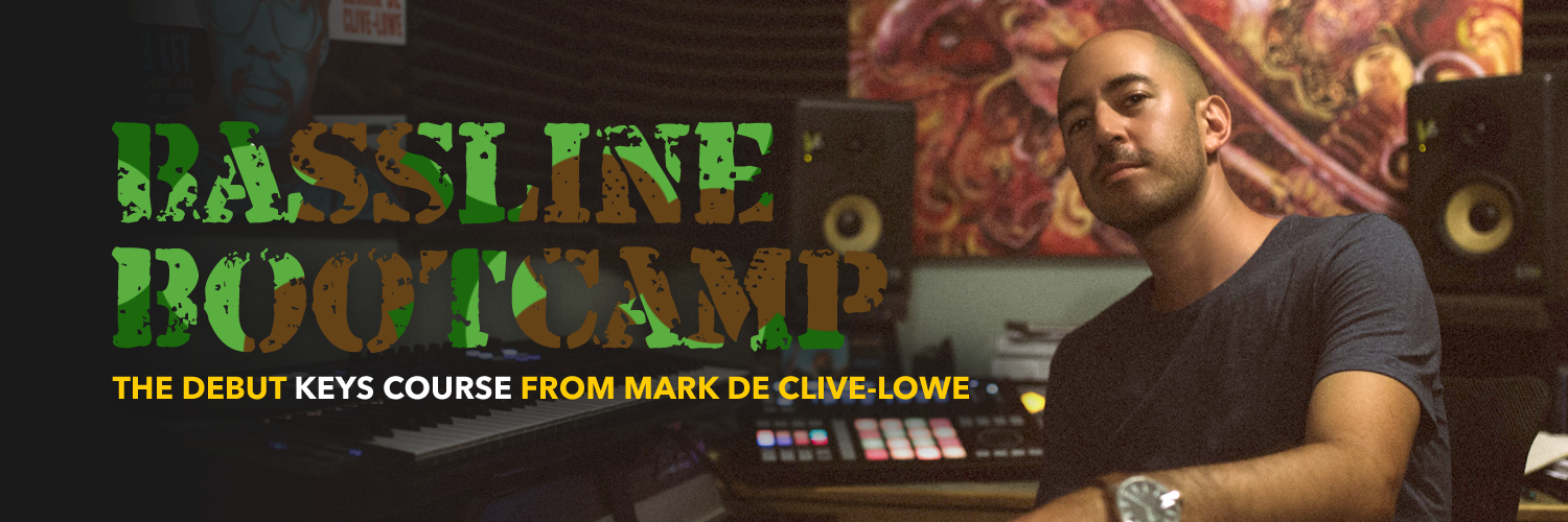 Bassline Bootcamp from Mark de Clive-Lowe