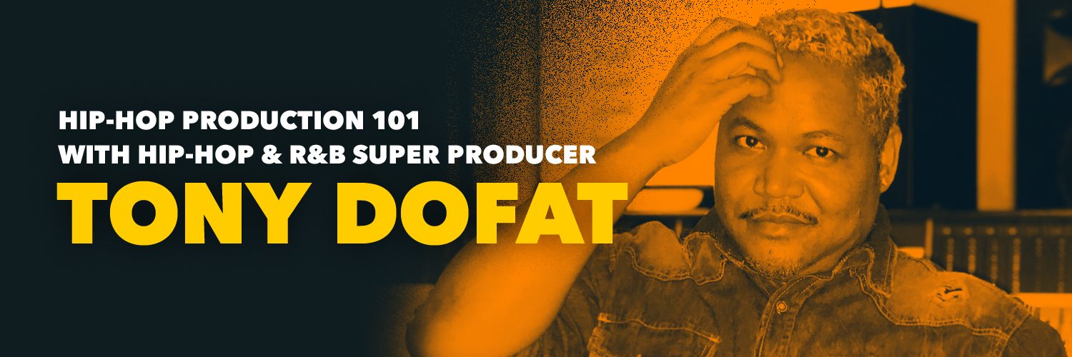 Hip-Hop Production 101: Hip-Hop & R&B Super Producer Tony Dofat Takes Us To School